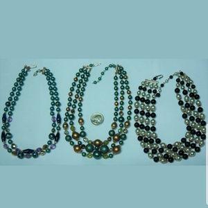Vintage Japan necklaces PM 574